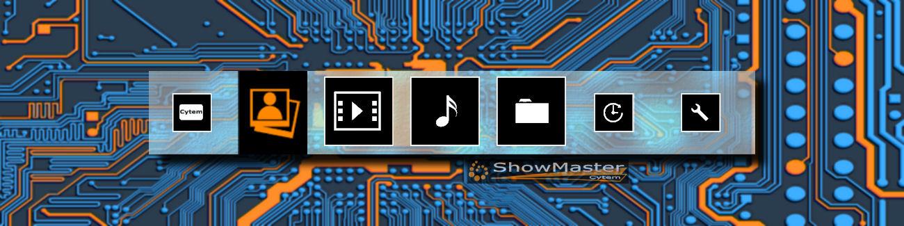 Digitaler Bilderrahmen ShowMaster Hardware