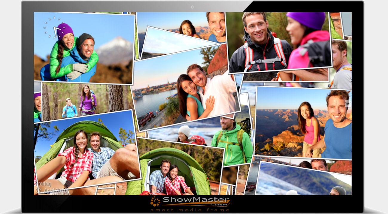 ShowMaster Digitalbilderrahmen mit Diaschaueffekten